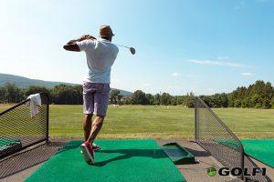 Golfschwung Korrektur