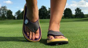 G-Flop auf dem Golfplatz