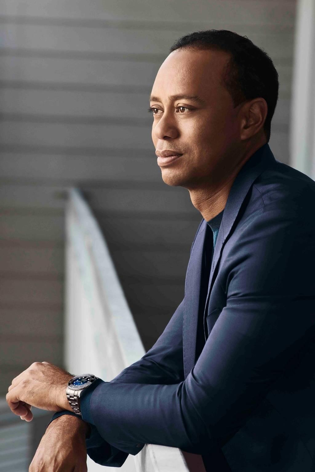 Tiger Woods mit Rolex