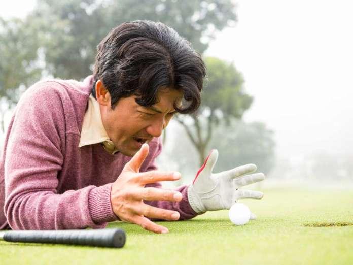 Golf-Emotionen