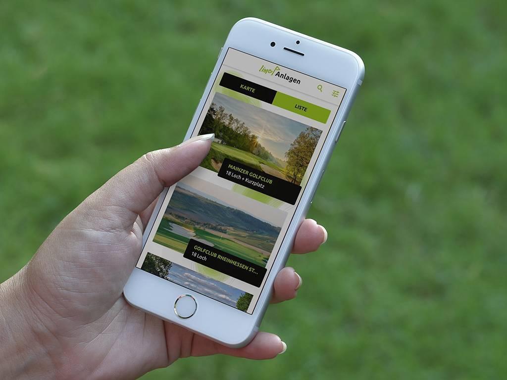 Lime Golf App