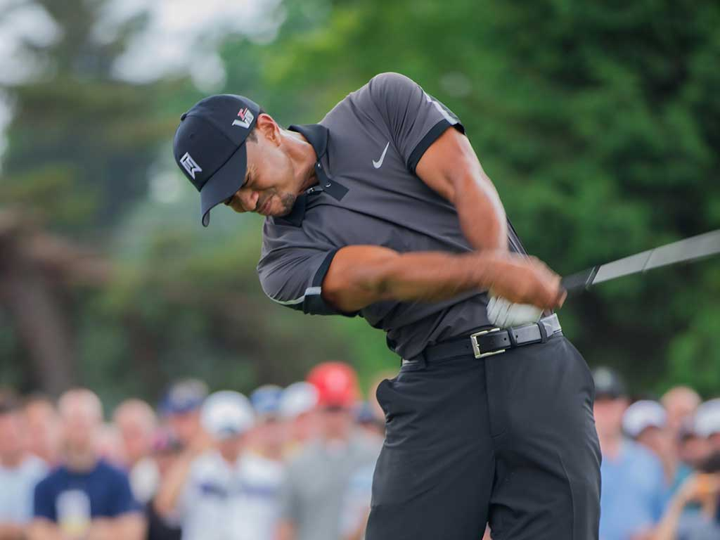 Tiger Woods Golfschwung