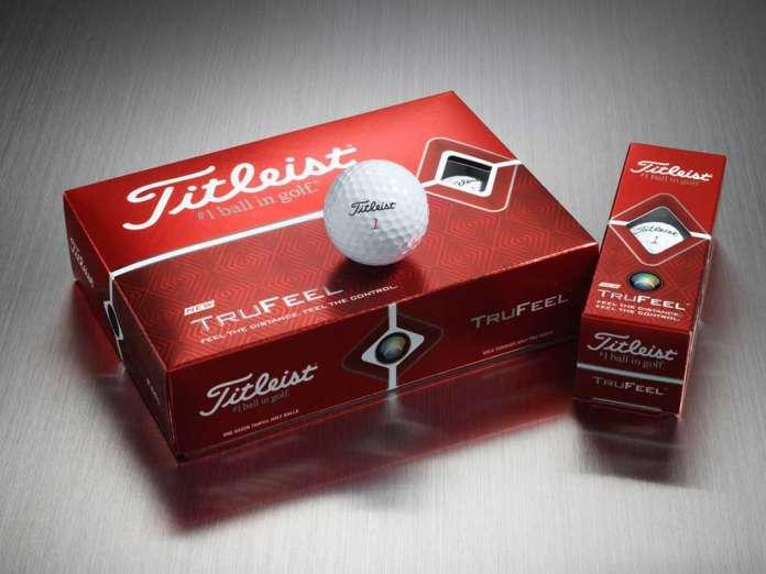 Titleist TruFeel Golfbälle